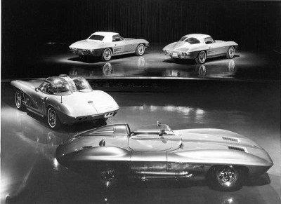 1963 Corvette design by Peter Brock