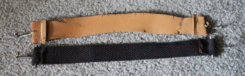sewn seat straps