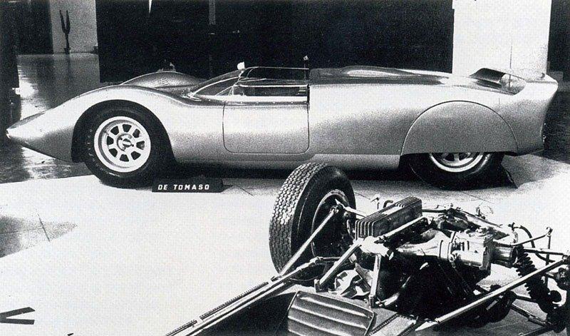 Shelby De Tomaso P 70