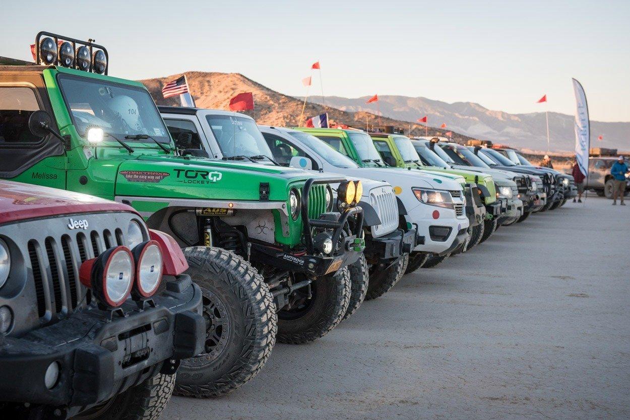 Rebelle Rally vehicles