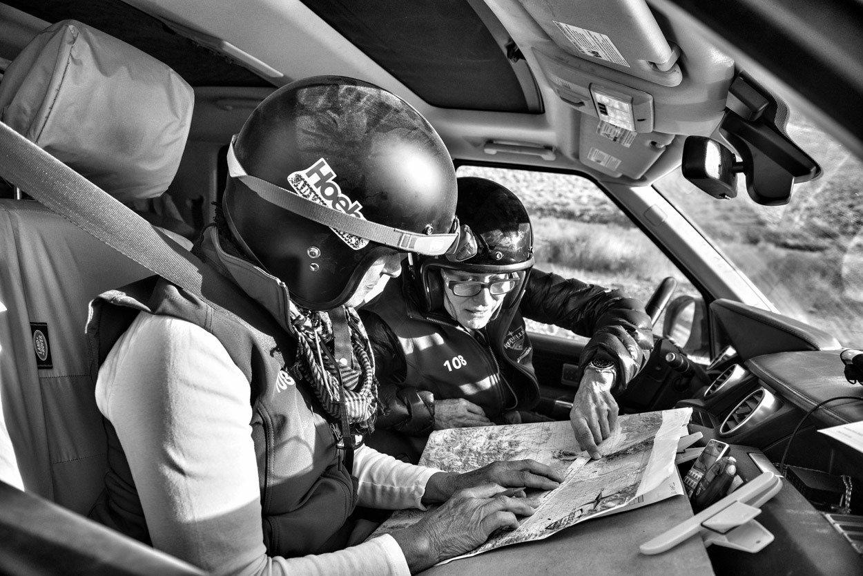 Rebelle Rally navigation