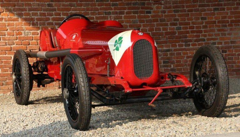 Quadrifoglio on 1923 Alfa Romeo RL Targa Florio