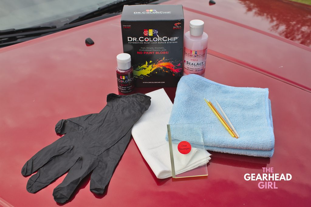 Dr. ColorChip Squirt 'n Squeegee touch-up paint kit