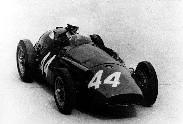 Maria Teresa de Filippis at the 1958 Monaco Grand Prix