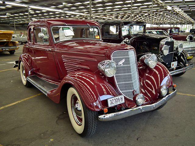 1934 Dodge D R coupe