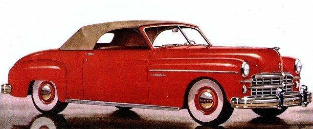 1949 Dodge Wayfarer Roadster