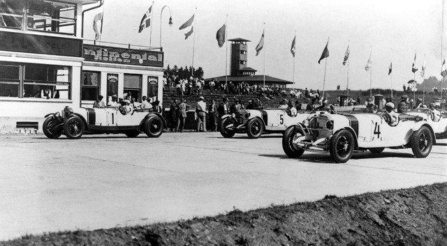 Adolf Rosenberger at the Nurburgring 1927