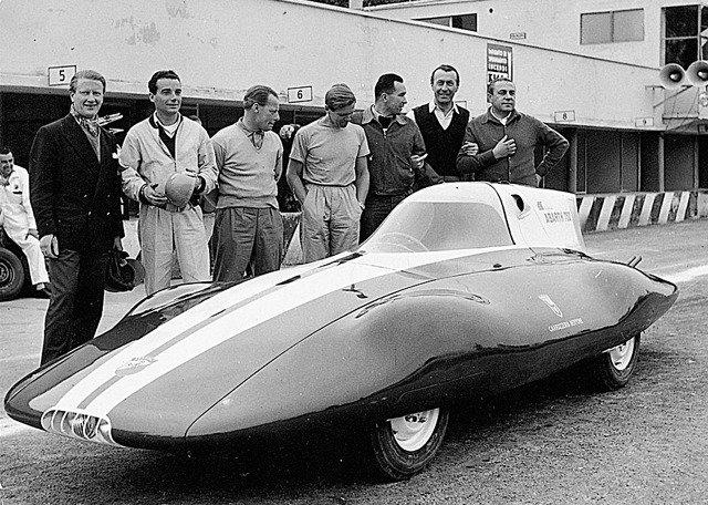 Bertone Fiat Abarth 750 record car