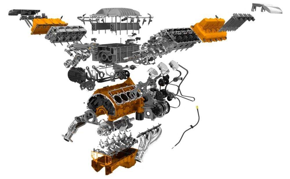 SRT Hellcat exploded view