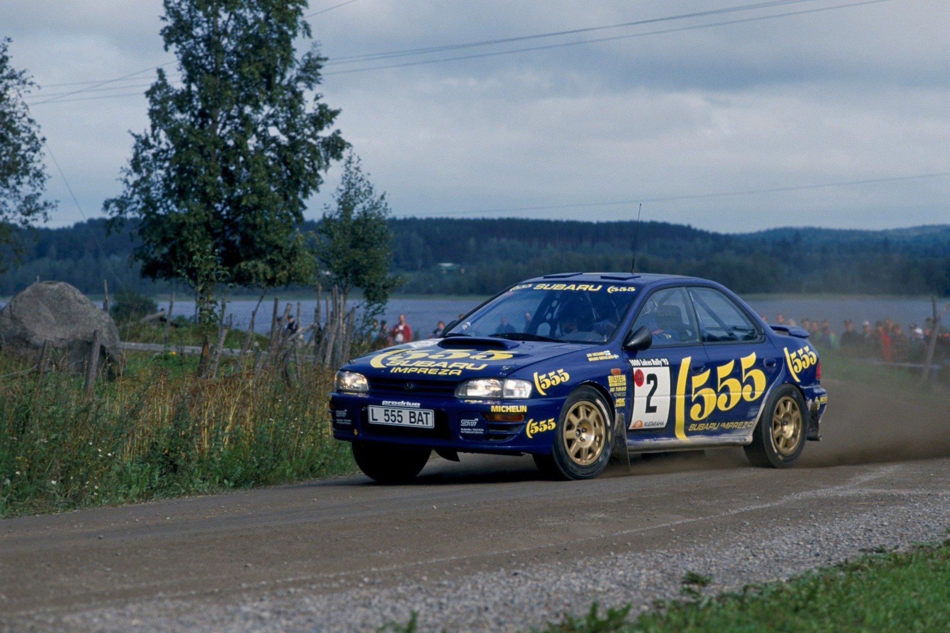 1993 Subaru Legacy RS WRC