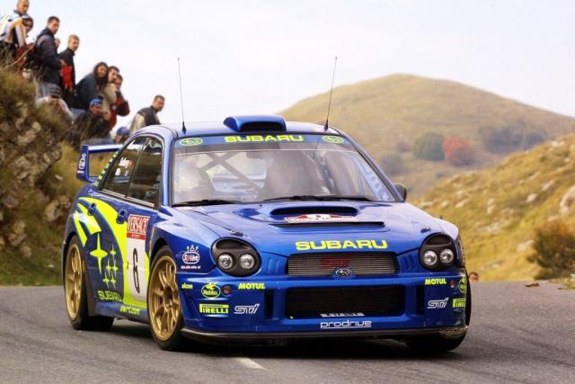 WRX STI WRC 2001