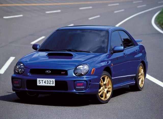 2001 Impreza WRX STI