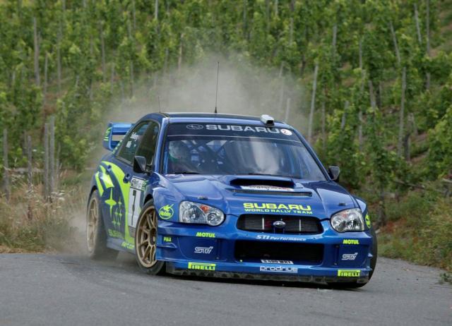 2003 WRX STI in WRC