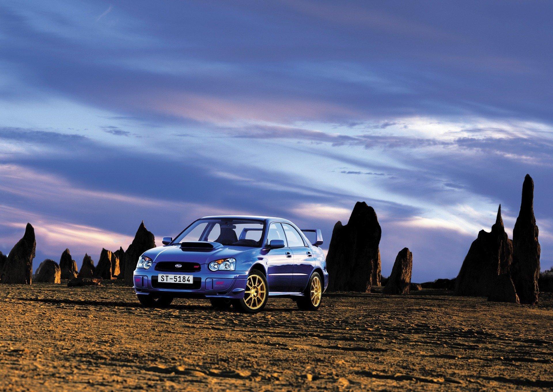 2004 Impreza WRX STI