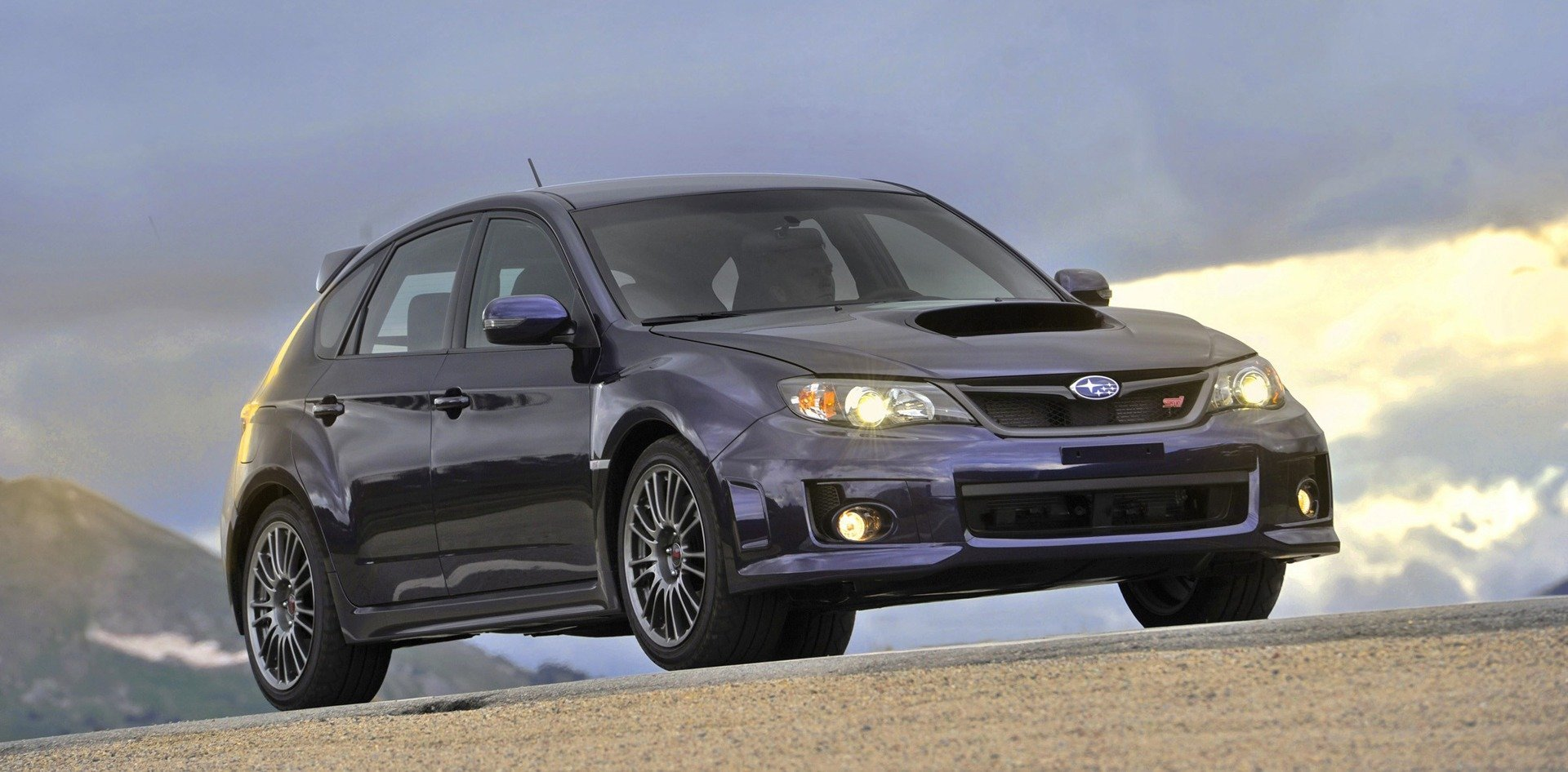 2012 Impreza WRX STI hatchback