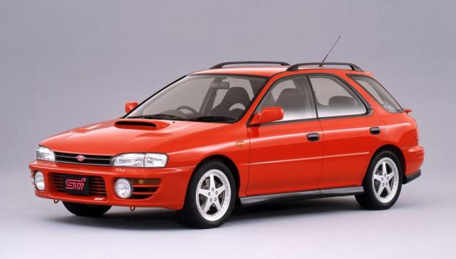 Subaru Impreza WRX STI Version I wagon