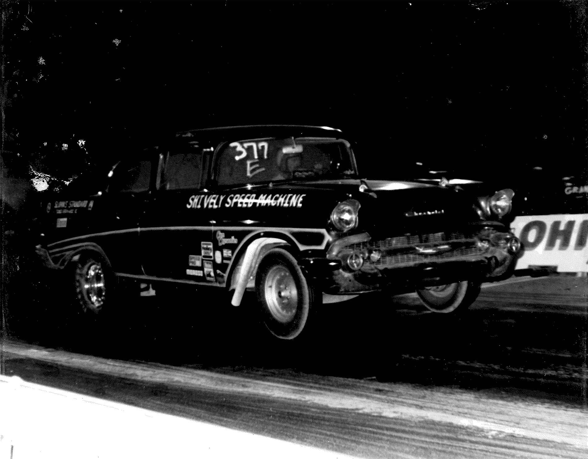 Shively Speed Machine vintage dragstrip photo
