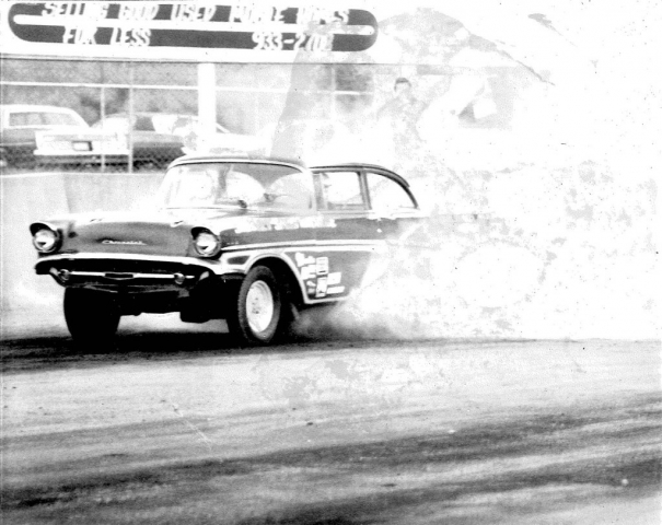 Shively Speed Machine vintage drag racing photo