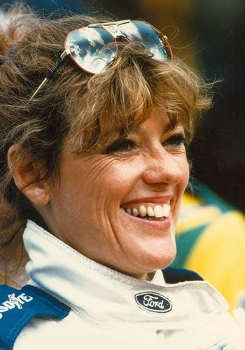 Lyn St. James at the 1989 24 Hours of Le Mans