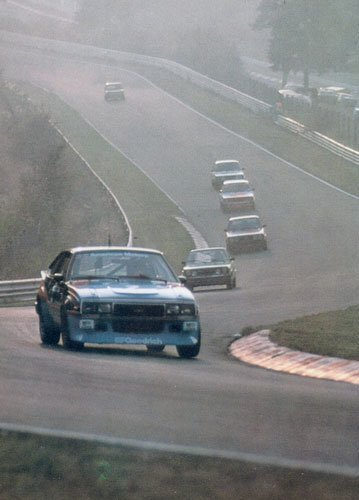 Lyn St. James racing at the 24 Hours of Nürburgring