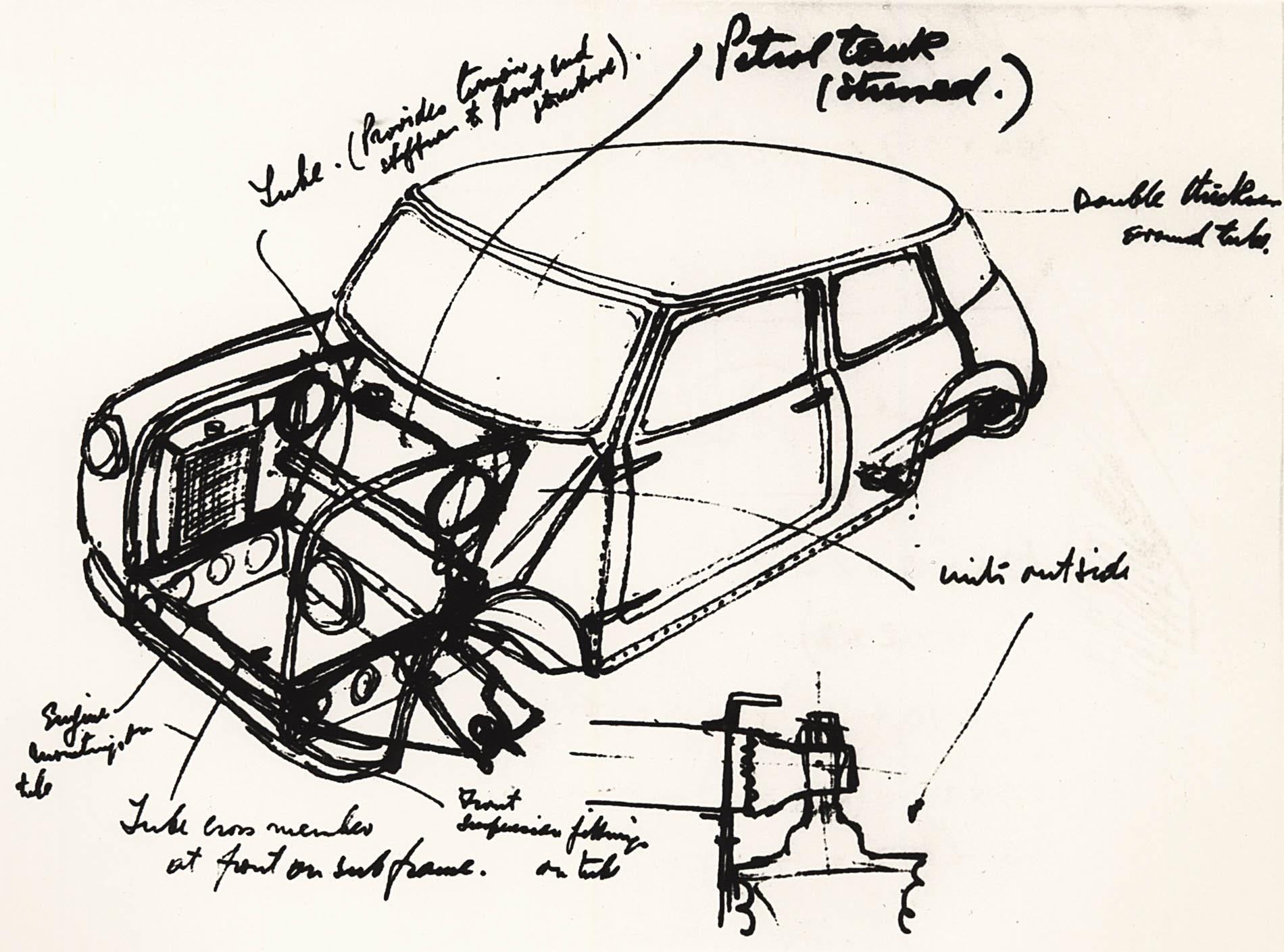 Mini prototype drawing