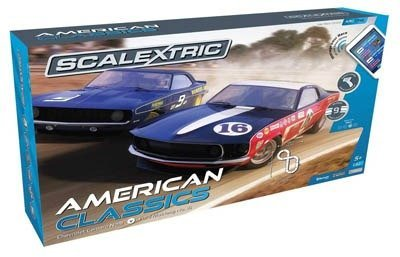 Scalextric American Classics slot car set