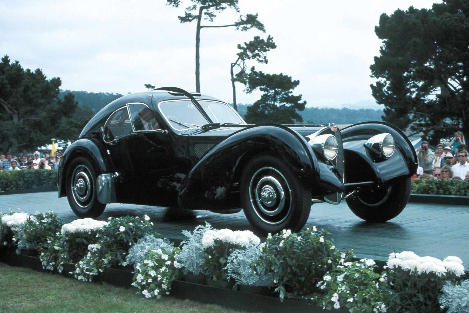 Ralph Lauren's 1938 Bugatti Type 57 S C Atlantic