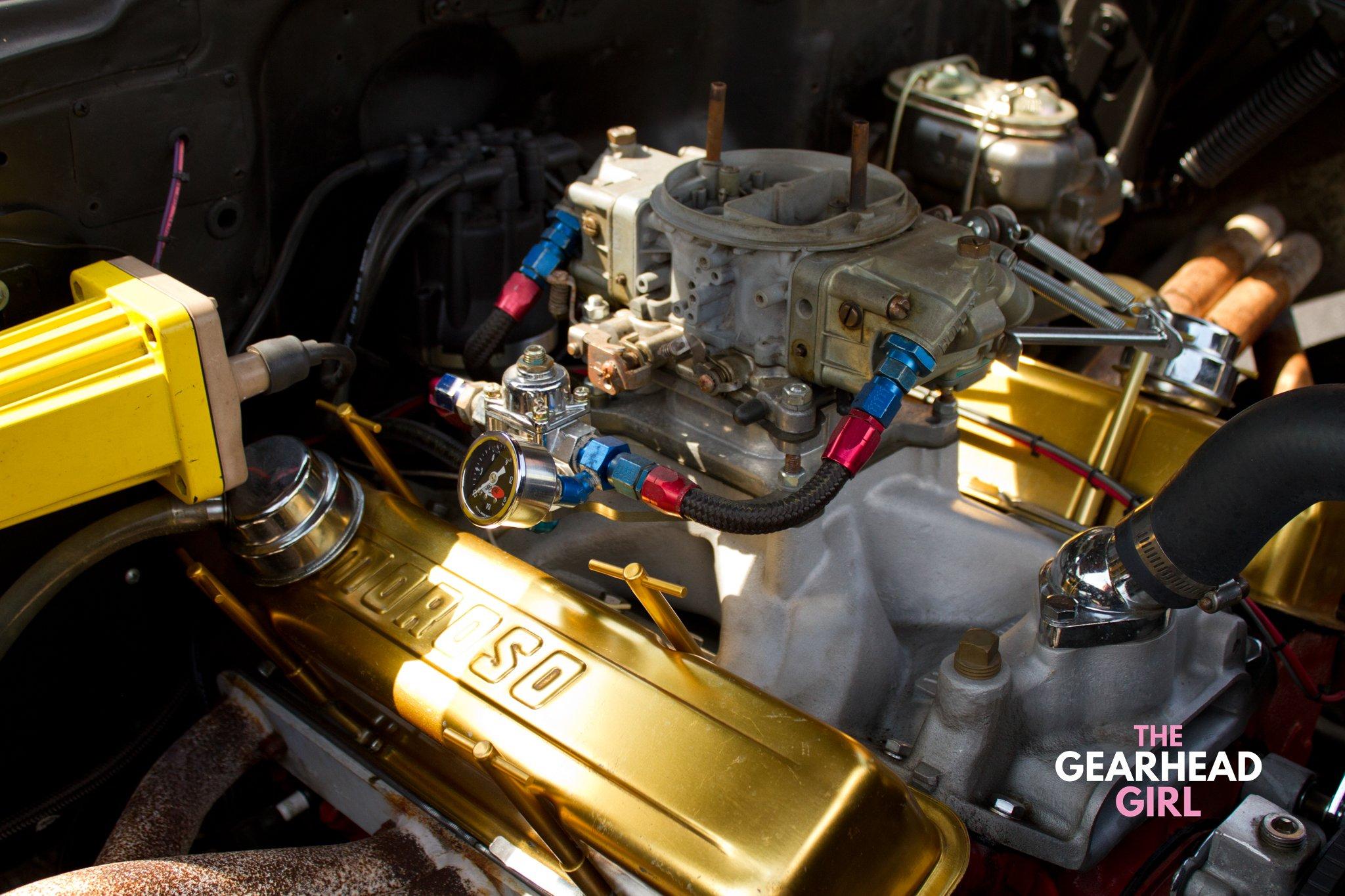 Shively Speed Machine engine