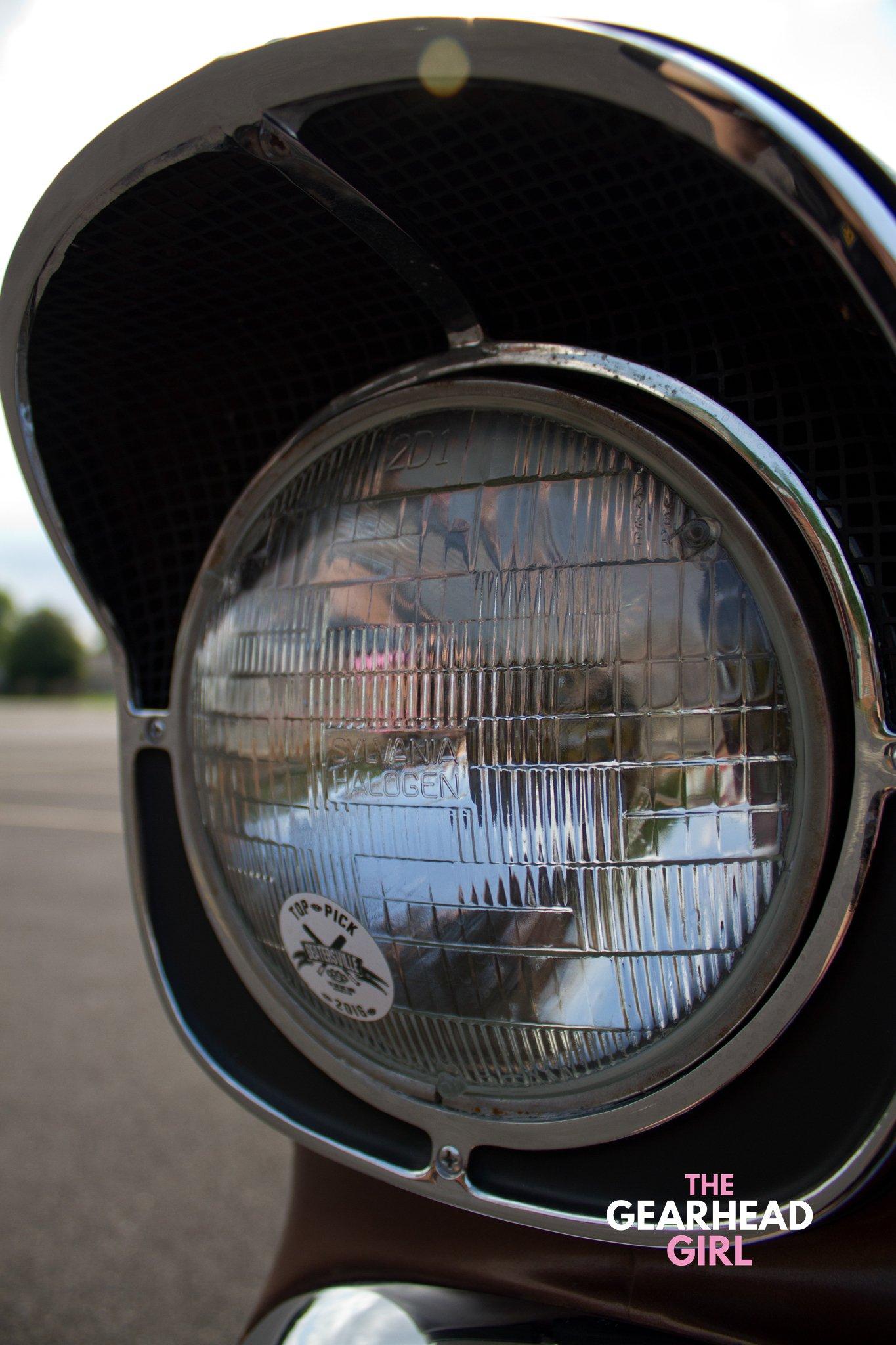 Shively Speed Machine headlight