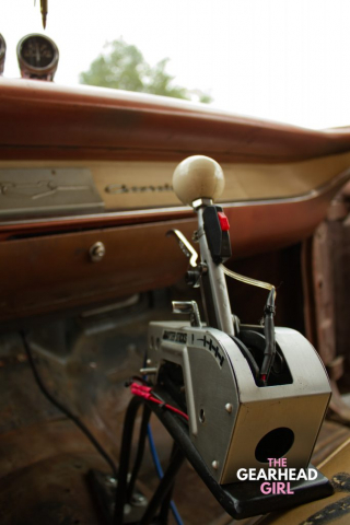 Shively Speed Machine gear shifter